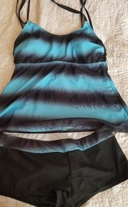 Other - Tankini with matching boy shorts bottoms